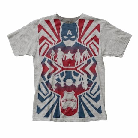 Captain America Opposing Forces T-Shirt