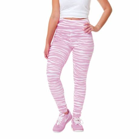 Team Leggings Pink/White