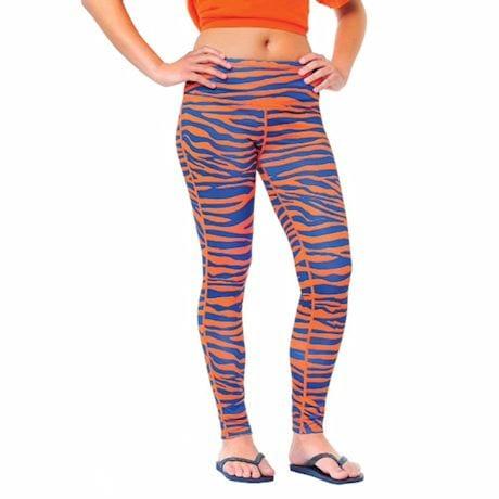 Team Leggings Blue/Orange