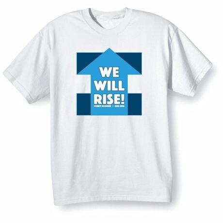 We Will Rise - Inspirational Corey Booker DNC 2016 Shirt
