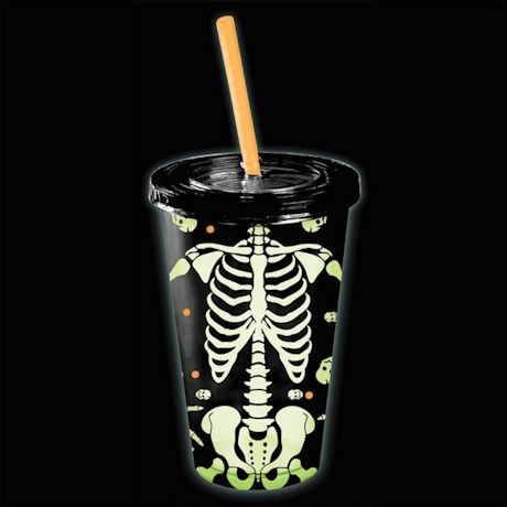 Glow In The Dark Skeleton Cup