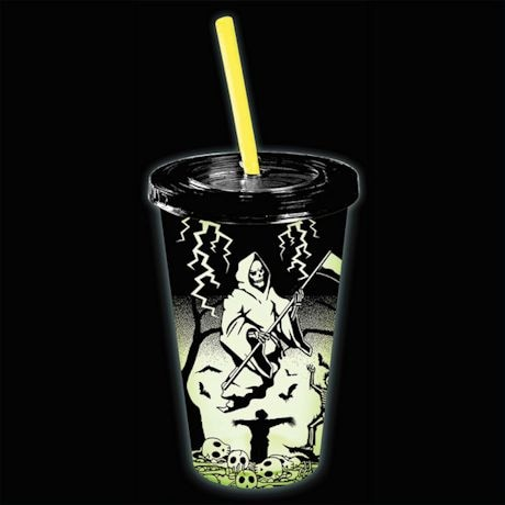 Glow In The Dark Grim Reaper Cup