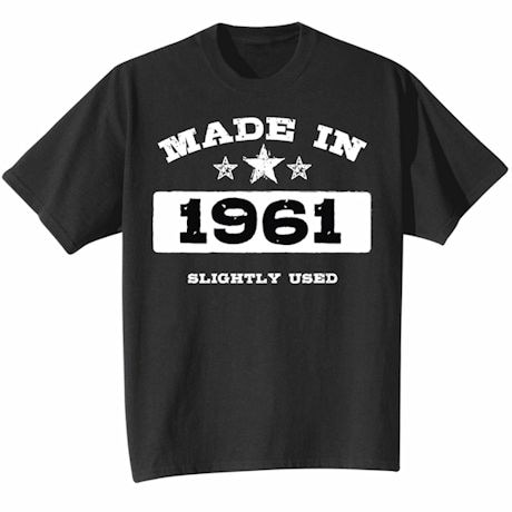 Made In 1961 Shirt