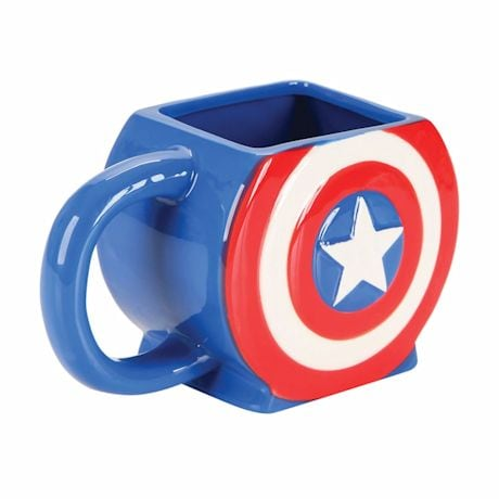 Captain America 3D Scultped Sheild Mug