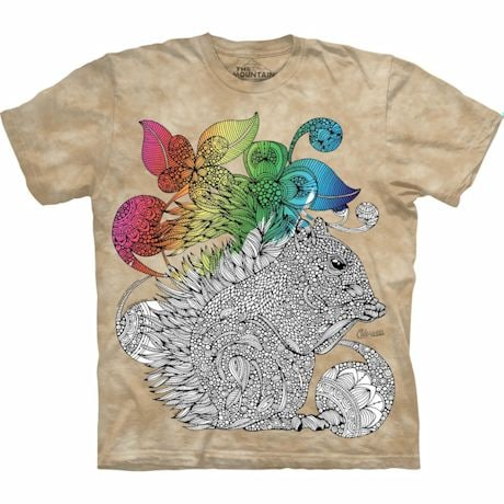 Color Yourself Tee- Squirrel