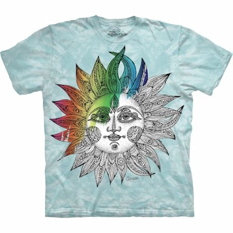Color Yourself Tee- Sun
