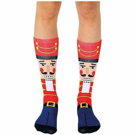 Holiday Crew Socks - Nutcracker