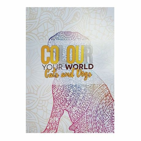 Colour Your World Coloring Books - Cats & Dogs