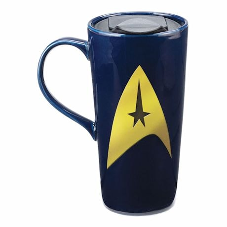 "Star Trek "" Beam Me Up"" Heat Reactive Travel Mug"