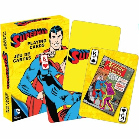 Licensed Playing Cards - Retro Superman