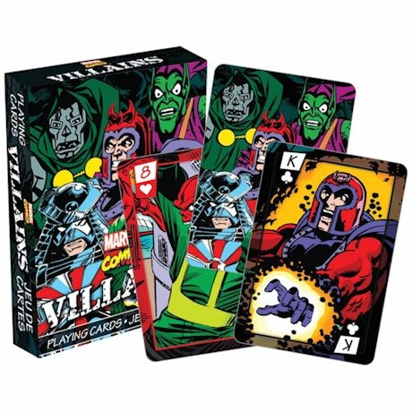 Licensed Playing Cards - Villains