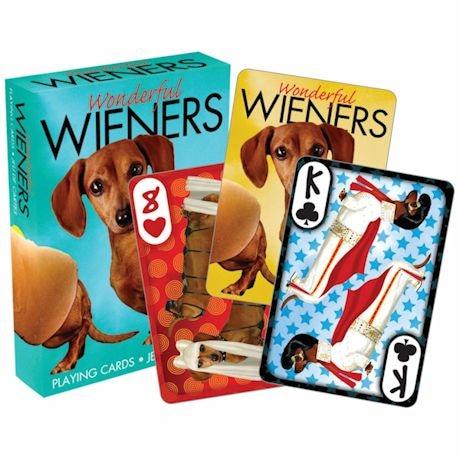 Licensed Playing Cards - Wonderful Wiener