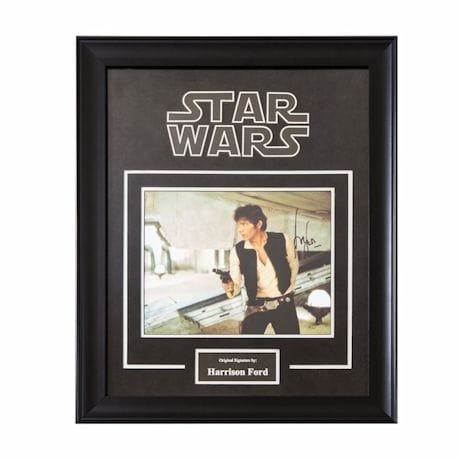 Star Wars Signed Print Han Solo
