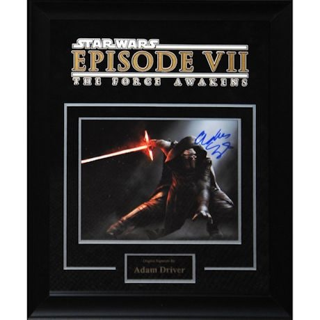 Star Wars Signed Print Kylo Ren
