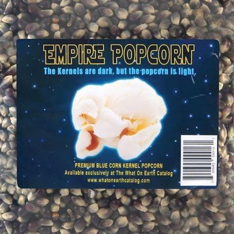 Empire Dark Side Popcorn Black Blue Kernels 2 lb bag