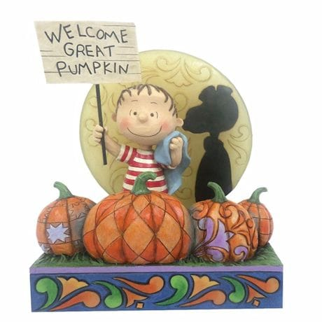 Peanuts The Great Pumpkin 50th Anniversary Figurine by Jim Shore