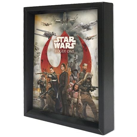 Star Wars Rebel Force Shadowbox
