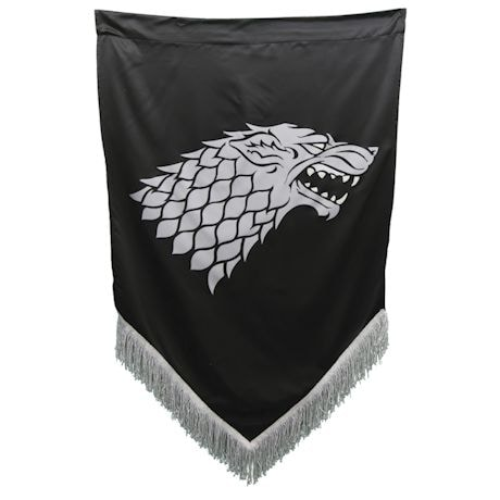 Game Of Thrones Fringed War Banners - Stark