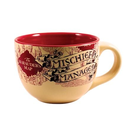 Harry Potter And The Prisoner Of Azkaban Mischief Managed Soup Mug