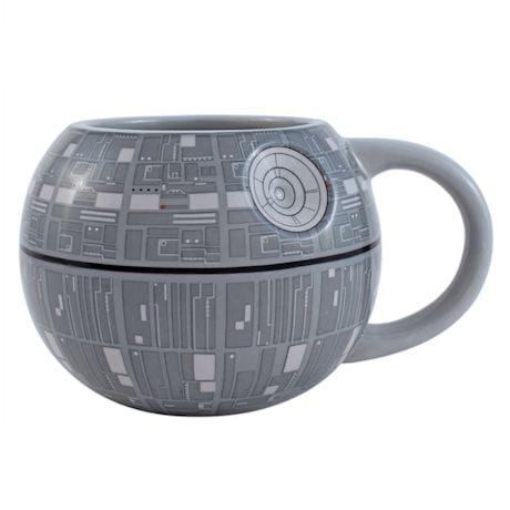 Star Wars 3D Death Star Ceramic Mug