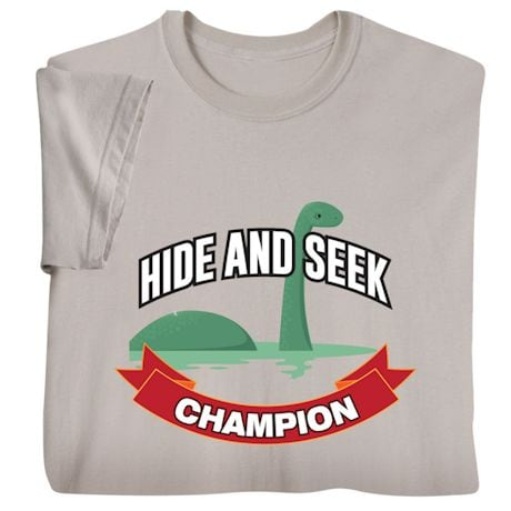 Hide And Seek Champion Shirts - Loch Ness