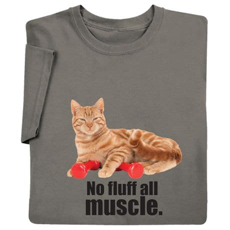 No Fluff All Muscle Shirts