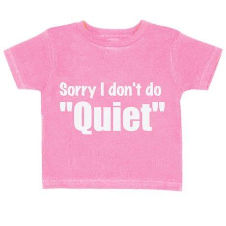 Toddler Tees - Quiet