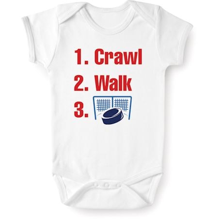 Crawl, Walk, Sports Snapsuit