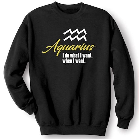 Horoscope Shirts - Aquarius