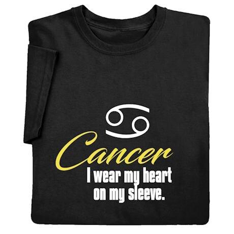 Horoscope Shirts - Cancer