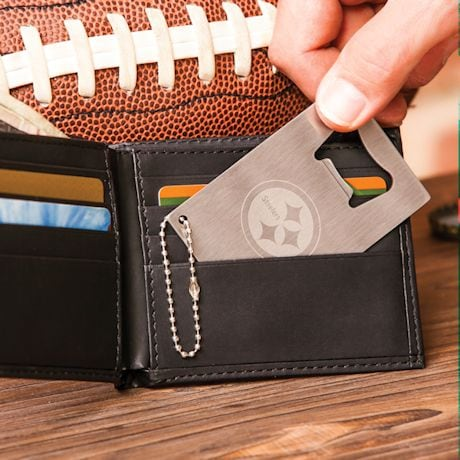 NFL Team Wallet & Bottle Opener Gift Set