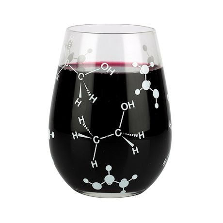 Chemist Approved Glassware - Stemless Wine Glass