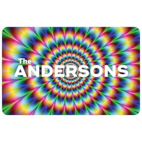 Psychedelic Personalized Doormat