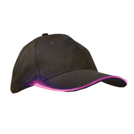 Led Light-Up Baseball Hat