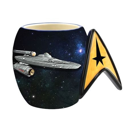 Star Trek Enterprise Logo Mug