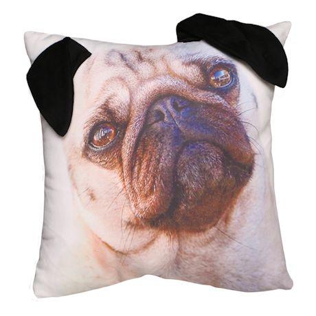 Floppy Ears Pillows - Pug