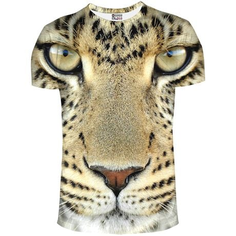 Jumbo Animal Faces Shirts - Leopard