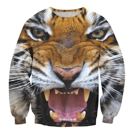 Jumbo Animal Faces Shirts - Tiger