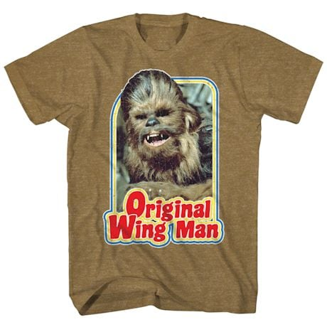Chewbacca Star Wars T-Shirts - Wing Man