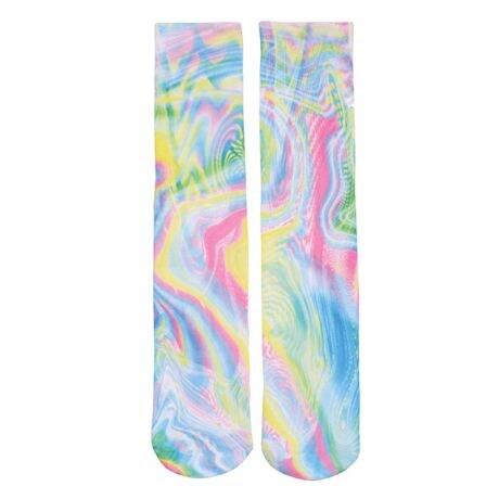 Hologram Crew Socks