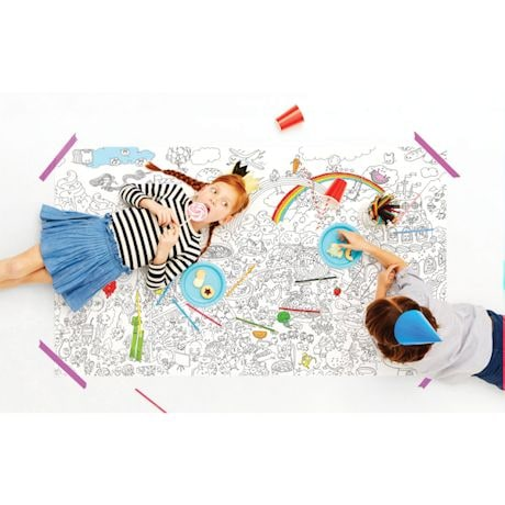 Really Big Coloring Poster