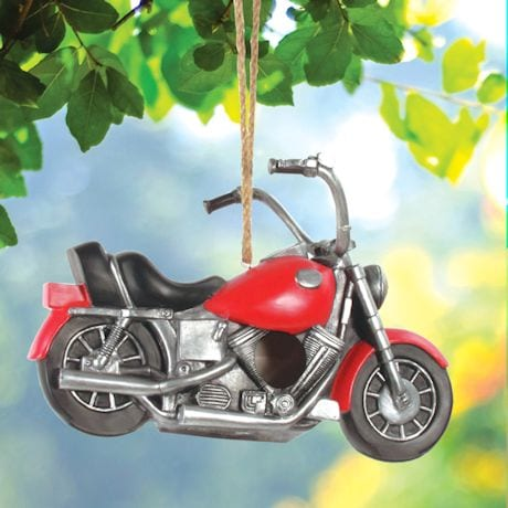 Motorcycle Birdhouse