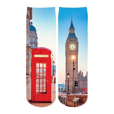 Famous Landmark Crew Socks