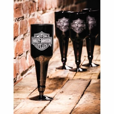 Harley Davidson® Beer Bottle Glass Set