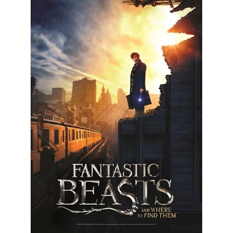 Harry Potter & Fantastic Beasts Poster Puzzles - Fantastic Beasts NYC