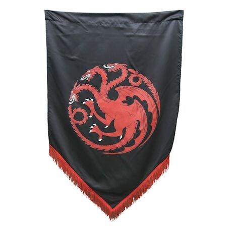 Game Of Thrones Fringed War Banners - Targaryen