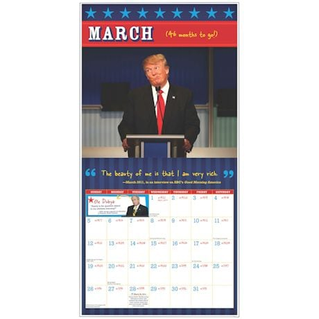 Donald Trump Out Of Office Countdown Calendar