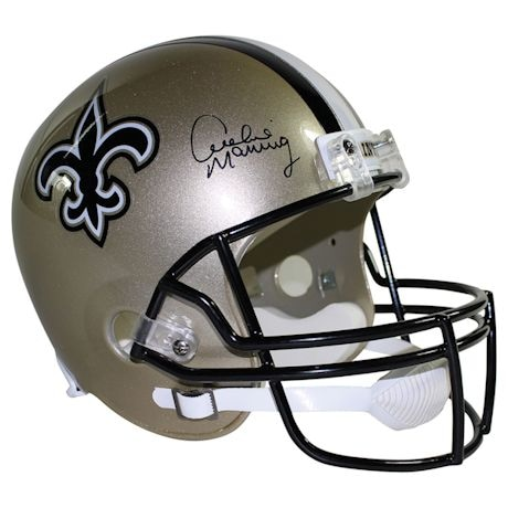 Archie Manning Signed New Orleans Saints Riddell Full Size Replica Helmet