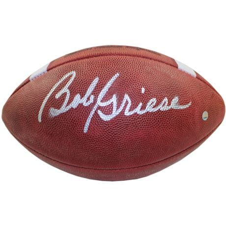 Bob Griese Signed Super Bowl VIII Football