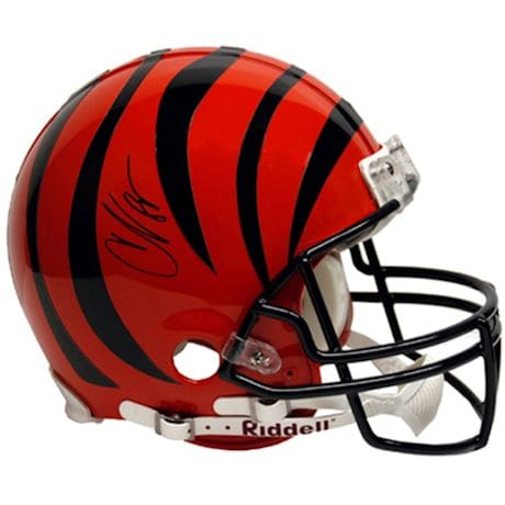 Chad Johnson Bengals Pro Helmet